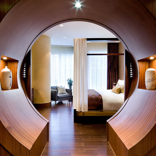 Shangri la hotel toronto presidential suite bedroom