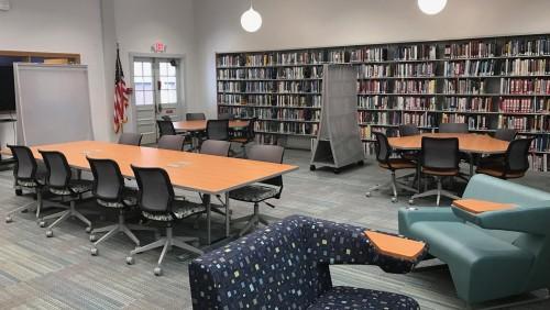 Bay Path University S Hatch Library Gets Major Renovation Bay Path University