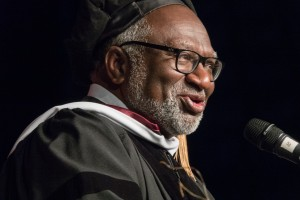 Charles Coe, honorary degree recipient and 2018 Commencement speaker at Bay Path University