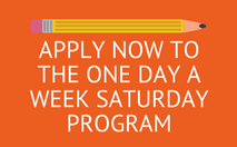 One Day a Week Saturday Application Button