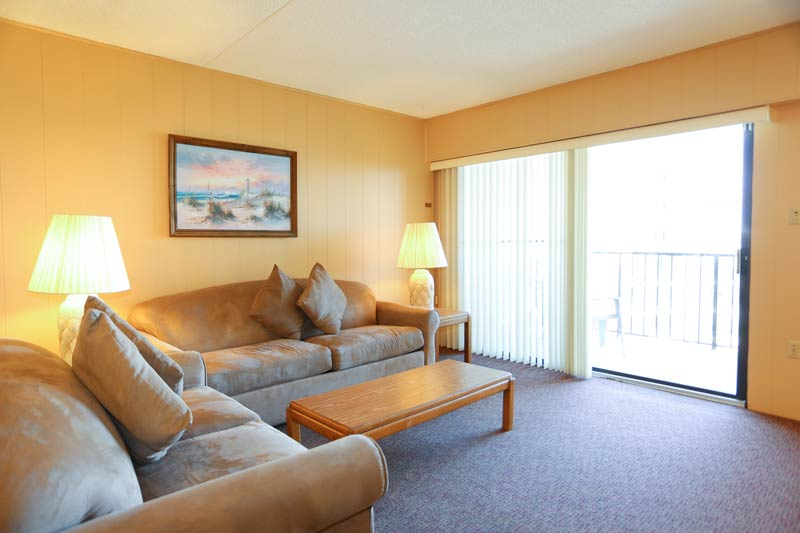 SeaTime 1bd condo living room view 2