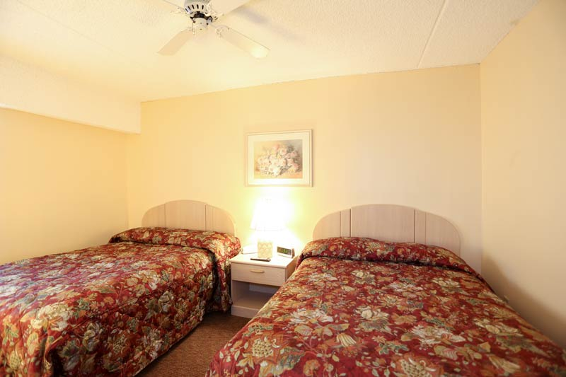 SeaTime 1bd condo bedroom view