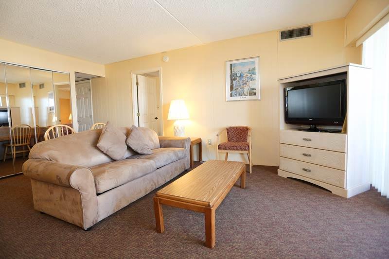 SeaTime 3bd condo living room area
