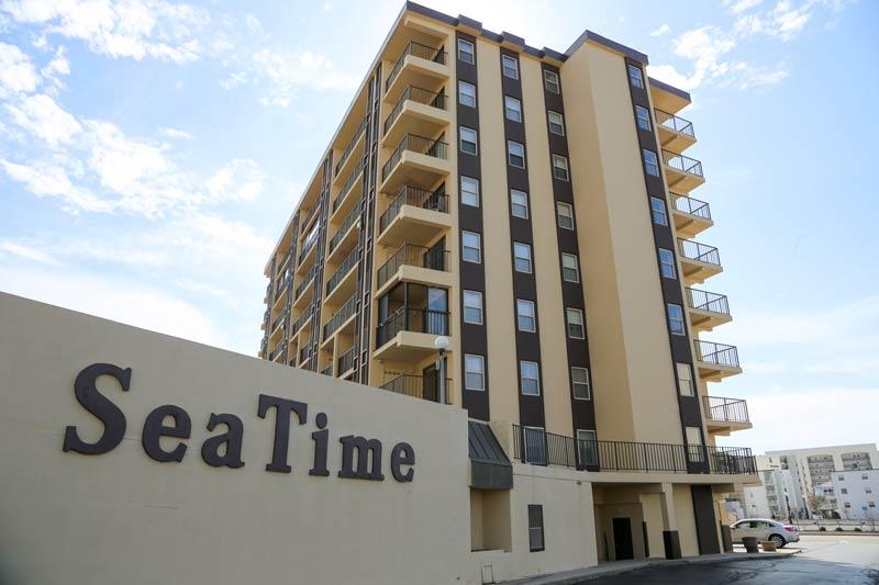SeaTime Condominiums Main Entrance