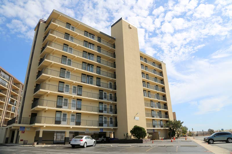 SeaTime Condominiums Ocean City MD side view
