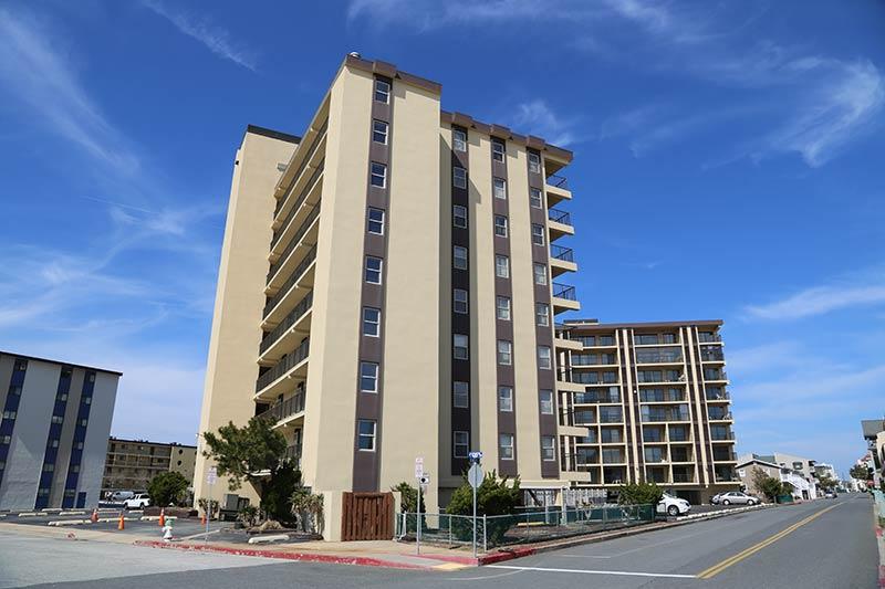 SeaTime Condominiums Ocean City MD street view 2