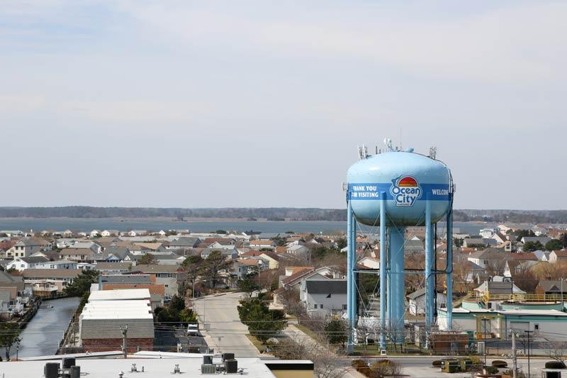SeaTime Condominuims Ocean City MD bayside view