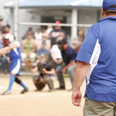Softball umpire