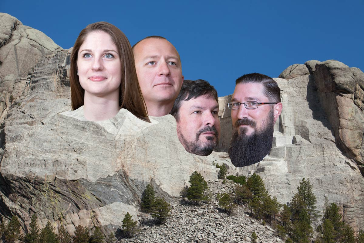 Russell Hammond Team Mount Rushmore