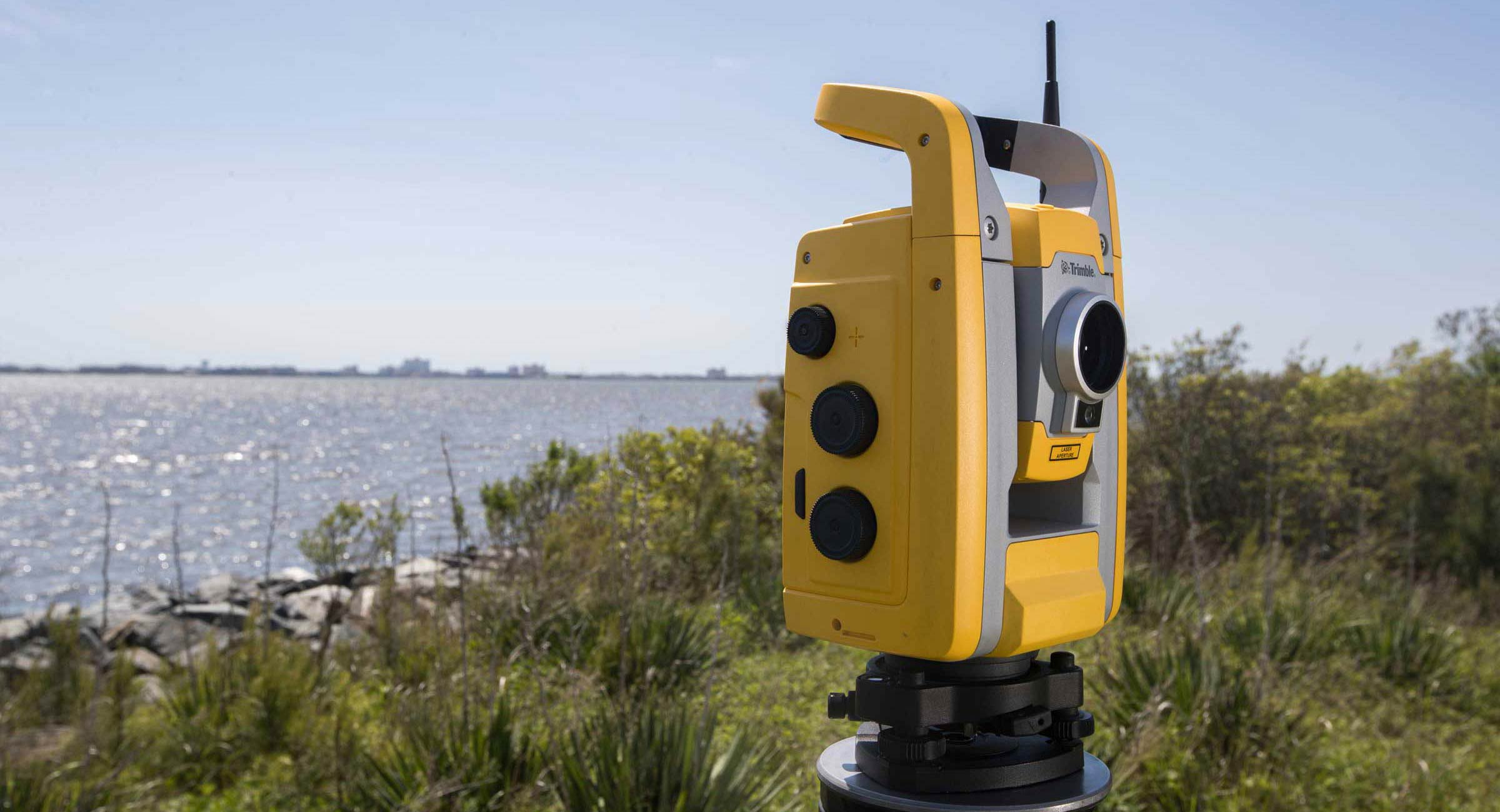 Surveying GPS/GNSS, level and rod