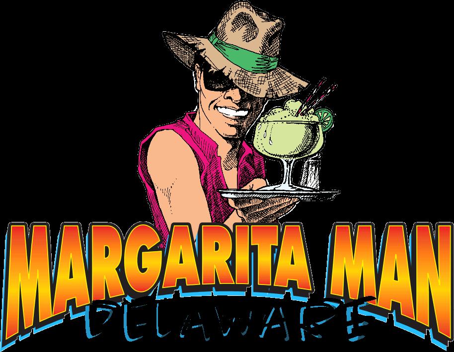 Margarita Man Delaware Logo