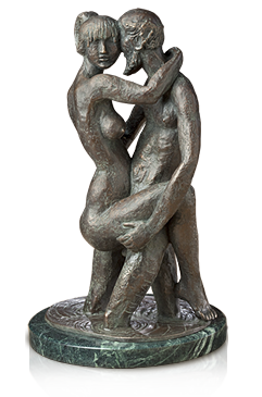 Standing Embrace