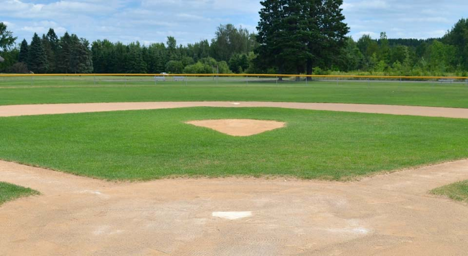 Athletic field grading