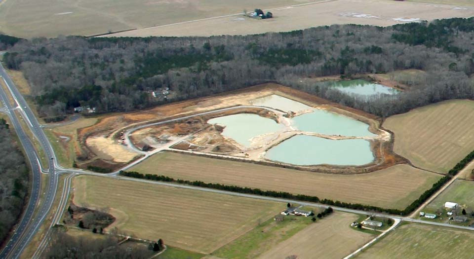 Surface Mining in Berlin MD
