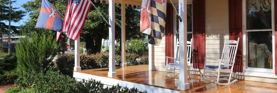 River House front porch