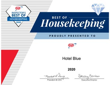 AAA Best Housekeeping Award