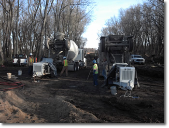 erosion control - under construction