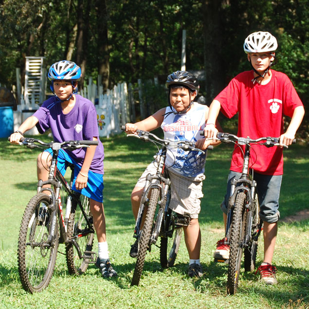 Biking Camp Olympia