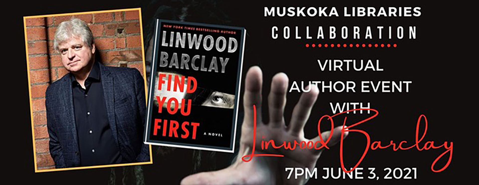 Authour Event Linwood Barclay