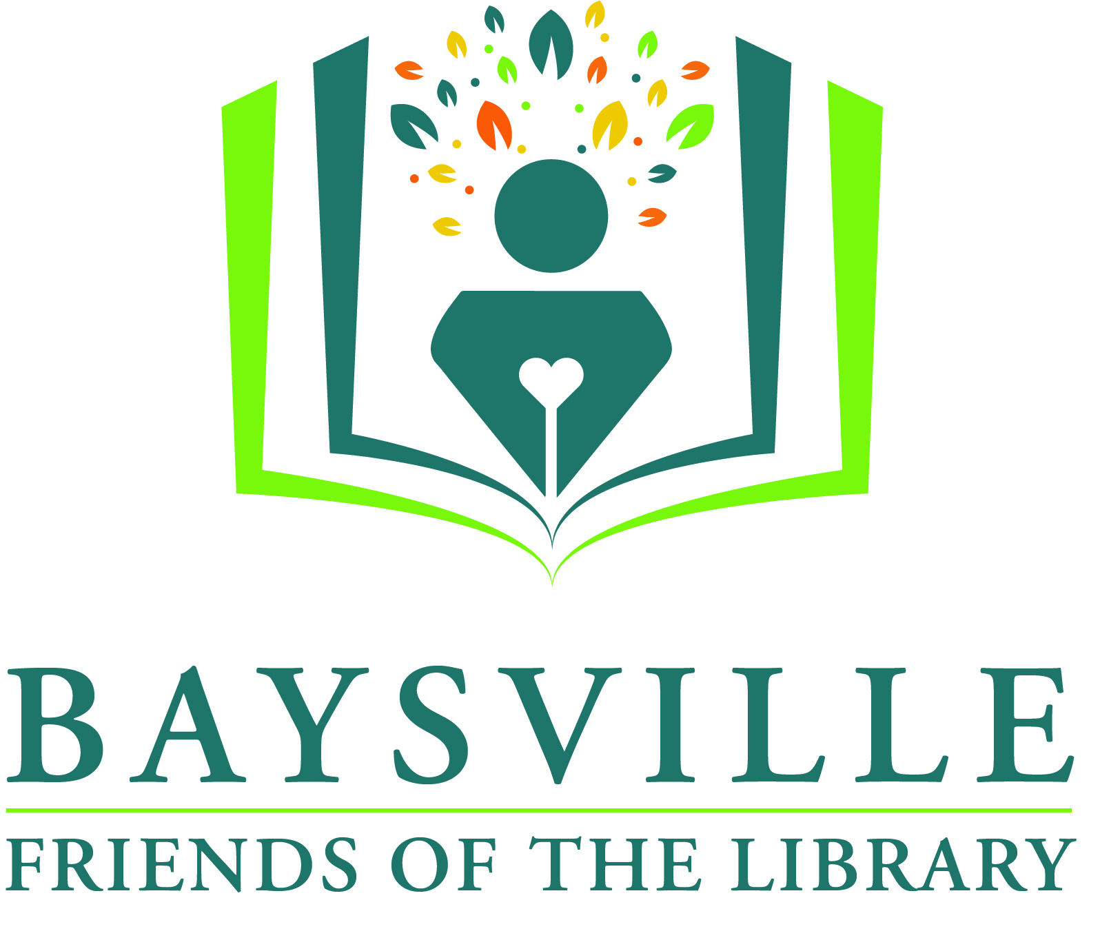 Baysville Friends of the Library logo