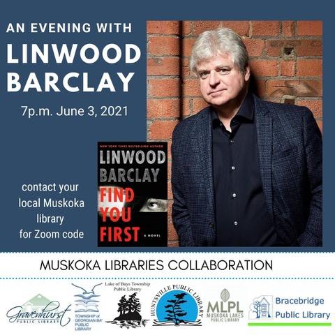 Linwood Barclay Virtual Author Visit