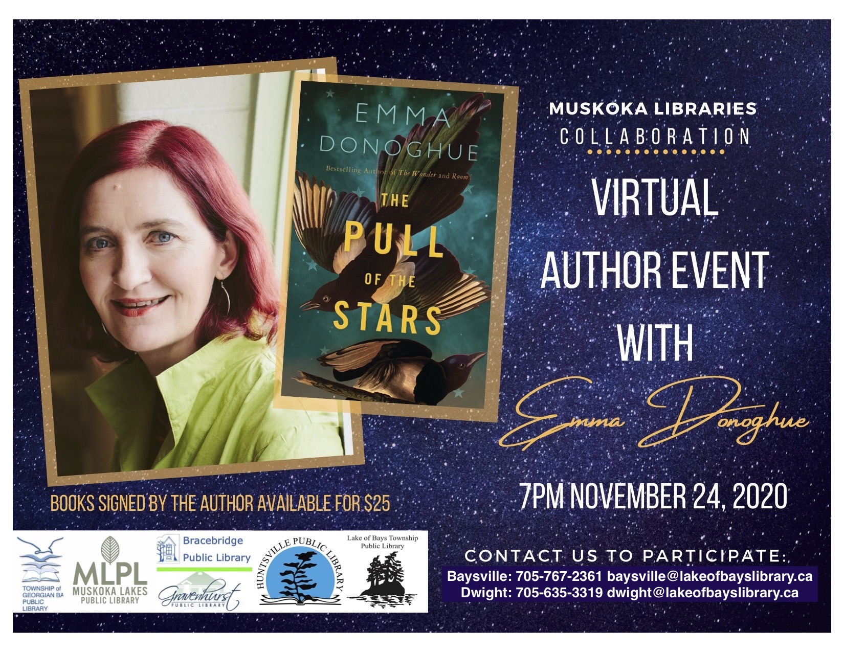 Emma Donoghue Virtual Author Talk