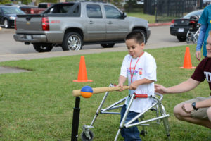 Young Athlete Playball