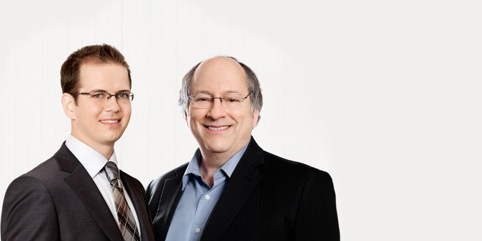 Simon Leduc et Paul Beauchemin