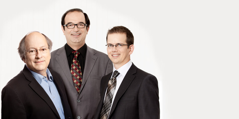 Paul Beauchemin, Zeljko Zavila, Simon Leduc