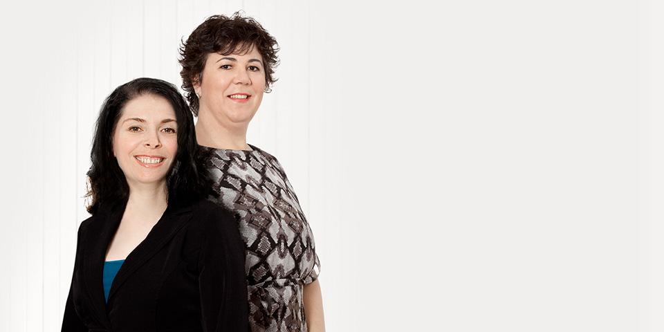 Françoise Parent, Isabelle Pitarési et Angela Veghes