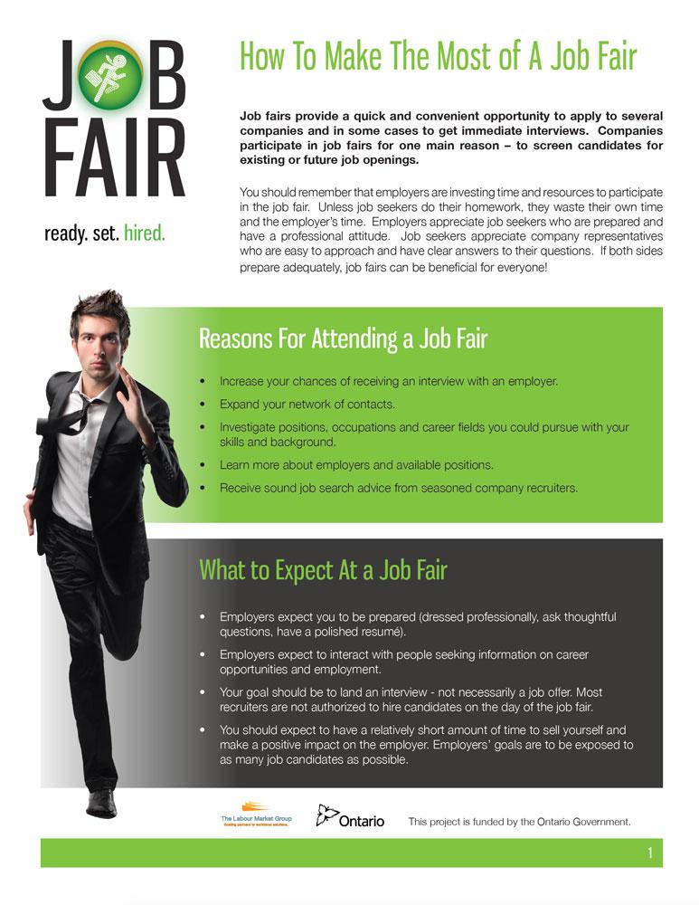 Job Fair Prep 2020