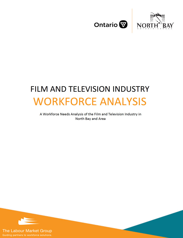 North Bay Film & Television Industry Workforce Report