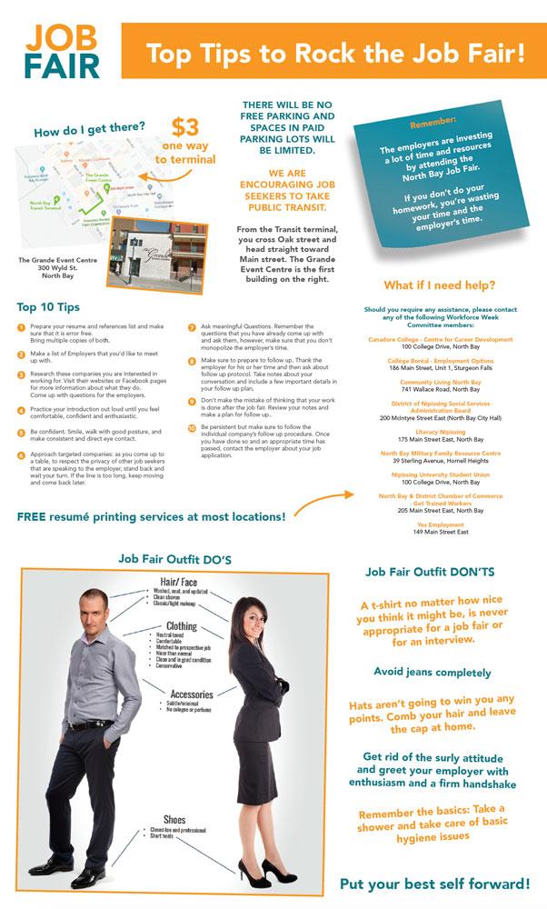 Top 10 Tips for the Job Fair