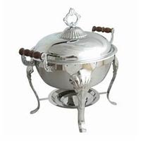 Round Chafer with Wood Handle rentals