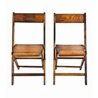 Wood Varnish chair rentals