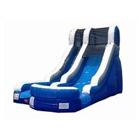 Blue/White Water Slide (15') rentals