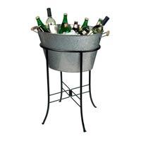 Galvanized Drink Tub on stand rentals