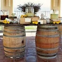 Wine Barrel Table / Bar (6') rentals