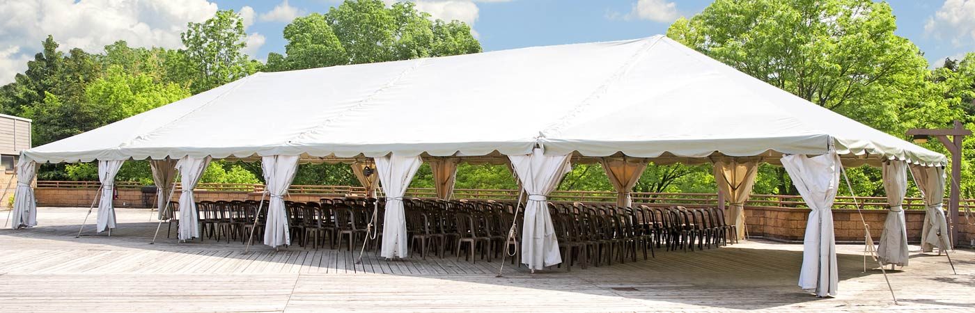 Tent Rental for speaking engagement