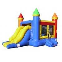 Castle Slide Combo (rainbow) rentals