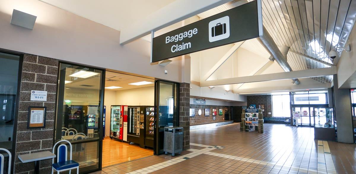 Baggage Claim area at Salisbury Regional Airport