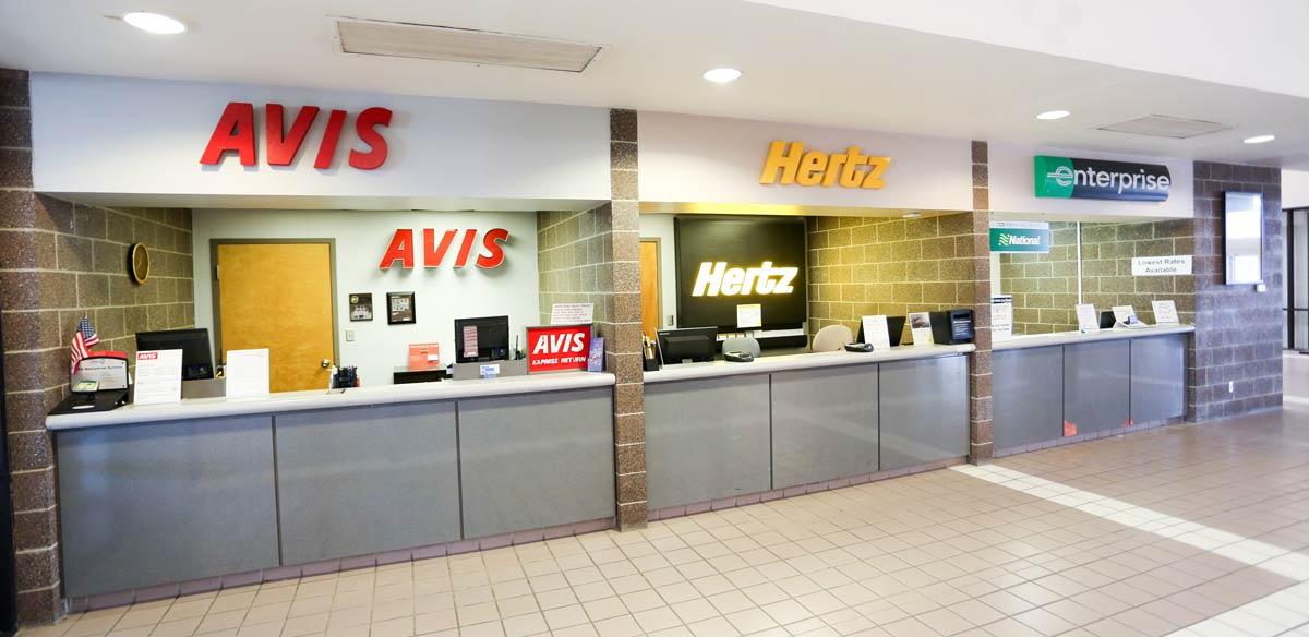 Salisbury Regional Airport ground transportation counter