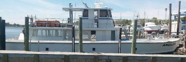 Angler charter boat