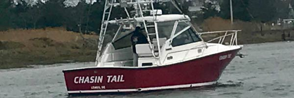 Chasin Tail charter boat