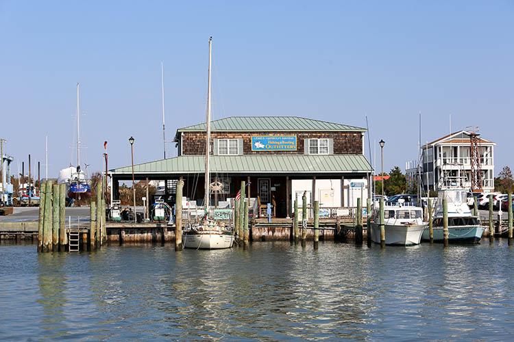 Marina Boat docks