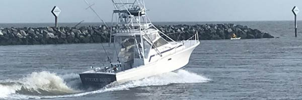 Strike Zone charter boat