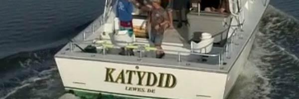 The Katydid charter boat