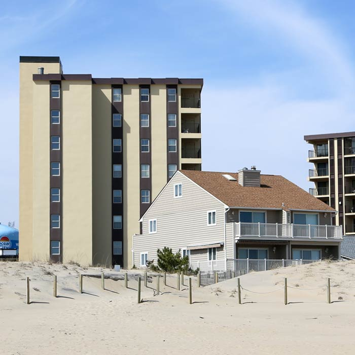 Oceanfront condo in Ocean City MD