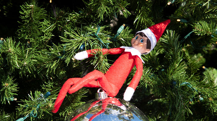 Jimmy the Elf is coming to town! Find him and win prizes