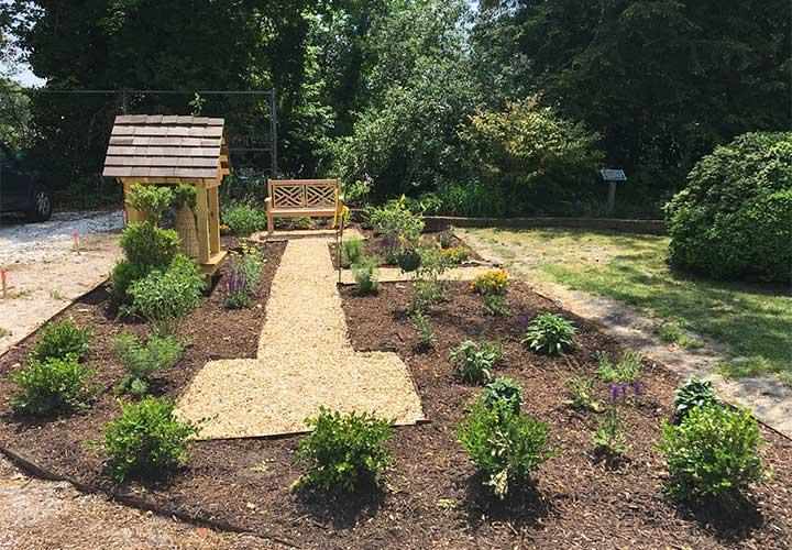 Visit Poplar Hill Mansion's new pollinator garden